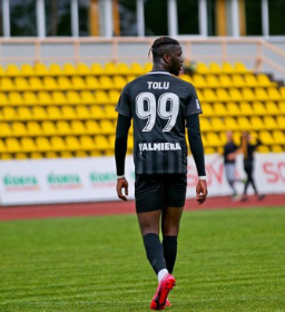 12 Goals In 13 Games: Valmiera's Arokodare Continues Scoring Spree With First Career Hat-trick