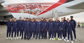 Three Nigerian Wonderkids Named In Arsenal First-Team Squad For Trip To Dubai