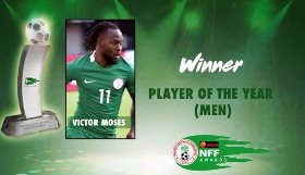 Victor Moses Proud To Win Nigerian Federation Player Of The Year After Banner Year