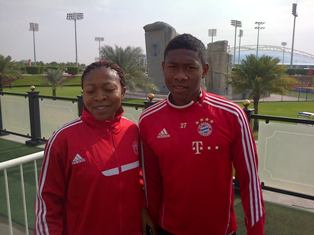 Injured Bayern Munich Star David Alaba Nearing Comeback