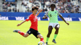 'Man Utd Need To Sign Oshoala As Their Top Striker' - Nigerians React To Brilliant Display By Barcelona Star