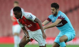 Alex Iwobi Delighted Arsenal Kept 100 Percent Record Intact