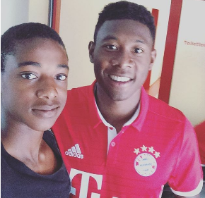 Promising Bayern Munich Nigerian Left Back Names His Role Model