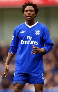 Chelsea Legend Celestine Babayaro Stars In Friendly Against Africa XI Squad