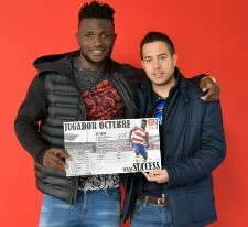 Isaac Success Named Granada Player Of The Month