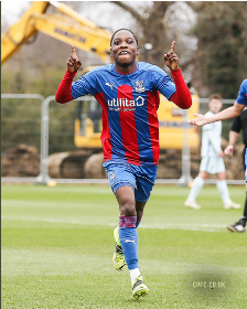 Prolific striker of Nigerian descent bags hat-trick for Crystal Palace in big win over West Ham U18s