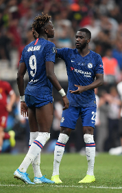 NFF Boss Pinnick Confirms Watching Chelsea Duo Abraham, Tomori Star Against Sheffield United