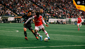 'Saka The New Messi' - Arsenal Fans React To Winger's MOTM Display Vs Eintracht Frankfurt