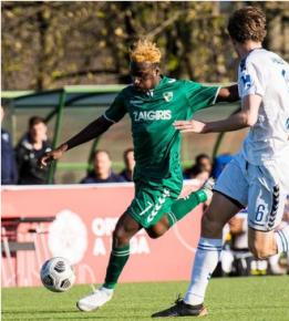 FC Zurich, St Gallen, Kortrijk among clubs mulling over move for ex-Teesside University winger Otele