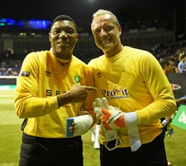 Former Fulham GK Debuts For Nigeria, Replaces Injured Rufai At 'Legends World Cup'