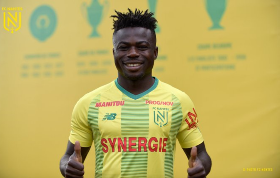 Official :  Moses Simon's Jersey Number Revealed As Nantes Announce Signing Of Super Eagles Winger