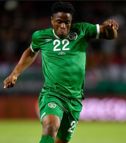 Rotherham's Ogbene reacts to being the first African-born player to debut for Republic of Ireland