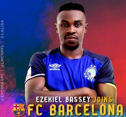 Barcelona Striker Bassey Still In Nigeria Awaiting Feedback From Spanish Embassy