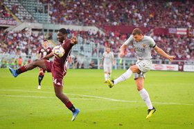 'I Couldn't See The Ball After Aina's Jump' - Roma's Dzeko Recollects Stunning Strike Vs Torino