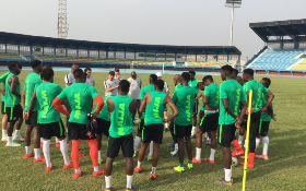 Rohr Hints At Making Three Changes To Super Eagles Starting XI Vs Seychelles