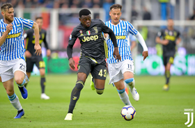 Nigerian Defender Scores Dramatic Late Winner For Juventus Against Atletico Madrid In UYL