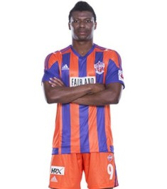 Kalu Uche Scores First Goal For Pune City
