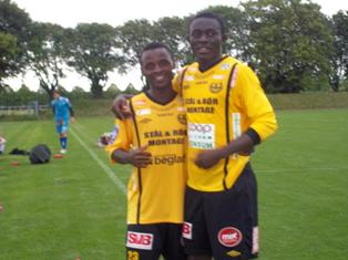 Samuel Monday Ayinoko Named Man Of The Match