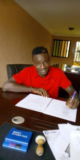 Photo Confirmation : FC Ifeanyi Ubah Sign Talented Attacker Obinna