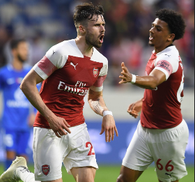 Al-Nasr Dubai SC 2 Arsenal 3 : Nigeria-Eligible Teenagers Make First-Team Debuts For The Gunners