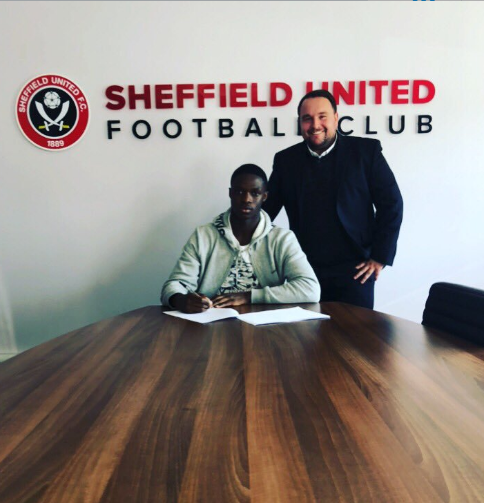 Photo Confirmation : Exciting Nigerian Winger Completes Transfer To Sheffield United