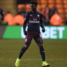 Saka Reacts After Debuting For Arsenal In Third Competition, Breaks Akpom's Nigerian Record