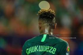 Super Eagles Winger Chukwueze Among 80 Players Shortlisted For Golden Boy Award