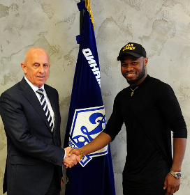 Image result for TRANSFER NEWS SYLVESTER IGBOUN JOINS DYNAMO MOSCOW ON LOAN