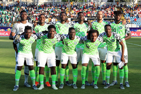 All Present And Correct : Rohr To Run The Rule Over 23 Super Eagles Players Final Training Session