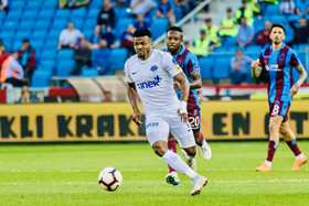 Forgotten Super Eagles Striker Eduok Sets New Personal Record In Europe