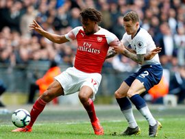 EPL Wrap: Iwobi Forces Fine Save From Lloris; Balogun Missing; Billing Goes 90; Solanke In The Stands