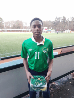 Manchester United, Arsenal Super Kids Of Nigerian Descent Named In Ireland Squad