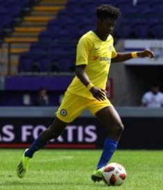 Aina Among Three Nigerian Starlets In Chelsea UYL Squad; Two In Midtjylland Squad