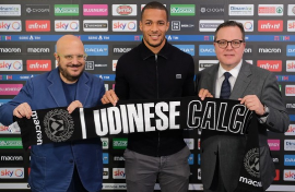 Official : Nigeria International Signs New Udinese Contract Until 2023