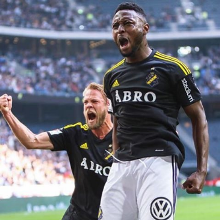 Chinedu Obasi Is The Hero As AIK Advance To Svenska Cupen Semifinal