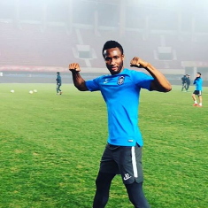 Super Eagles Captain Mikel Scores Cheeky Goal In Tianjin Teda Win