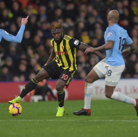Watford Coach Explains Why Isaac Success Started In 4-3-3 Formation Vs Man City