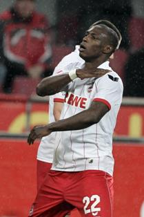 Cologne Striker Anthony Ujah Scores Fifth Goal In Seven Matches