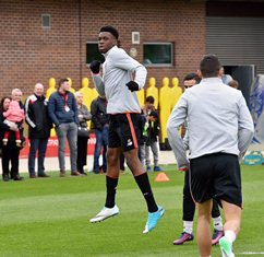 Ejaria Back In Full Training With Liverpool