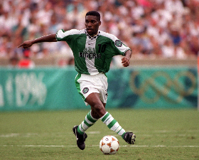 Ex-Liverpool Striker Diouf Labels Okocha 'The Most Talented African Footballer Since I Was Born'