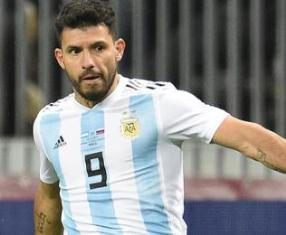 Aguero Ready For Rematch With Nigeria Rivals Ndidi, Iheanacho On Saturday