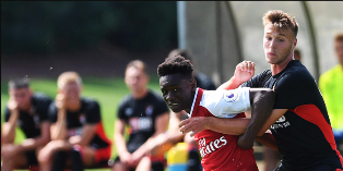 Talented Nigerian Striker On The Mark In Arsenal 4-2 Win Against Wolves