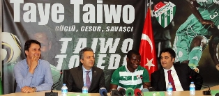 Freekick Expert Taye Taiwo Nets First Super Lig Goal For Bursaspor