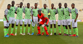 Golden Eaglets Players And Officials Land In Lagos Thursday Evening
