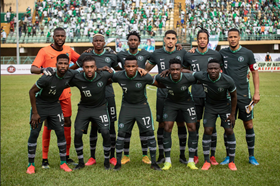 Super Eagles move up to 32nd in FIFA Ranking, third best team in Africa
