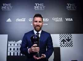 'Finally He Has One Ahead Of Ronaldo' - Nigerians React As Messi Beats Juventus, Liverpool Stars To FIFA Best Award