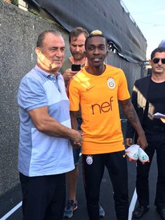 Official: Everton's Nigeria International Striker Joins Galatasaray On Loan
