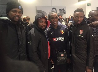 World Exclusive: Kelechi Nwakali Arrives In London To Complete Dream Move To Arsenal