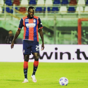 Crotone's Super Eagles striker hits double figures in Serie A for the first time after brace vs Torino