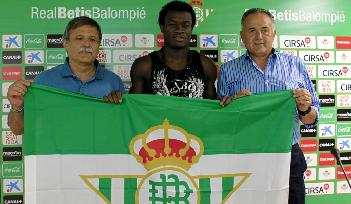 IGIEBOR Calls For Patience From Betis Fans